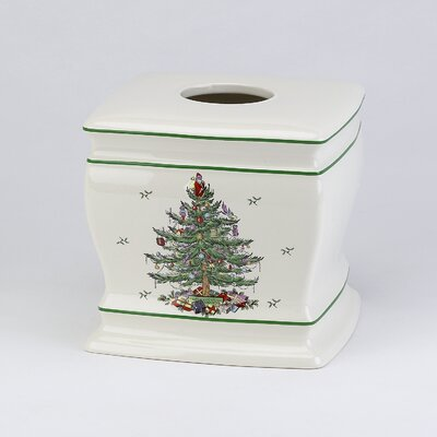 Spode Tree Tissue Box Cover 11523EIVR