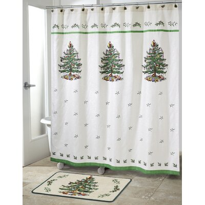 Spode Tree Jacquard Shower Curtain THDA2030 41867157