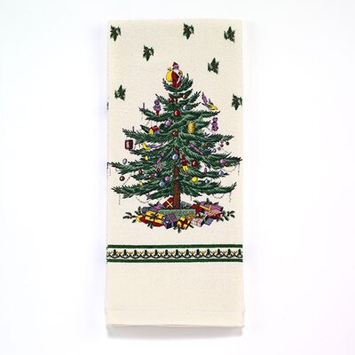 Spode Tree Printed Kitchen Towel 21523PKTIVR