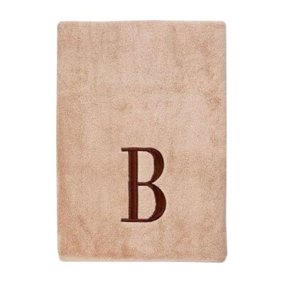 Premier Monogram Block 6 Piece Towel Set Letter: B
