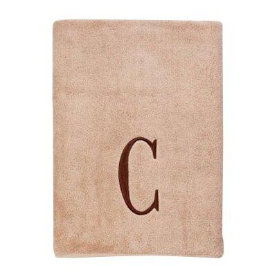 Premier Monogram Block 6 Piece Towel Set Letter: C