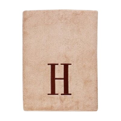 Premier Monogram Block 6 Piece Towel Set Letter: H