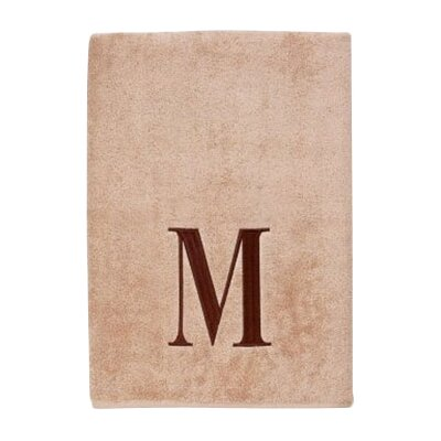 Premier Monogram Block 6 Piece Towel Set Letter: M