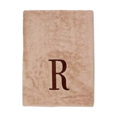Premier Monogram Block 6 Piece Towel Set Letter: R