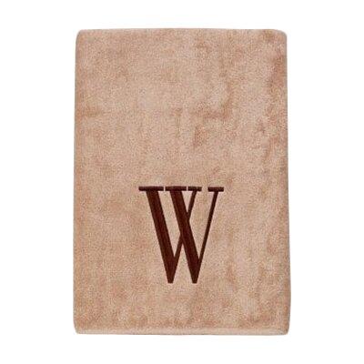 Premier Monogram Block 6 Piece Towel Set Letter: W
