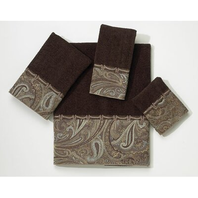 Bradford Fingertip Towel Color: Java