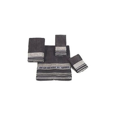 Geneva Fingertip Towel Color: Granite