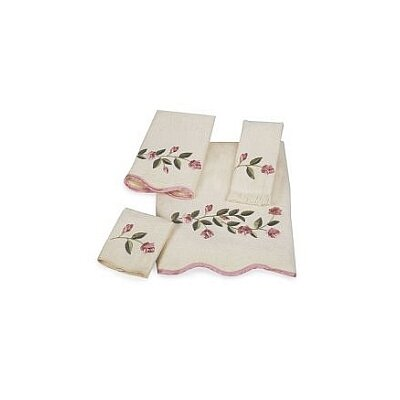 Avanti Linens Melrose Scallop 4 Piece Towel Set at Sears.com
