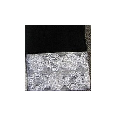 Galaxy Fingertip Towel Color: Black