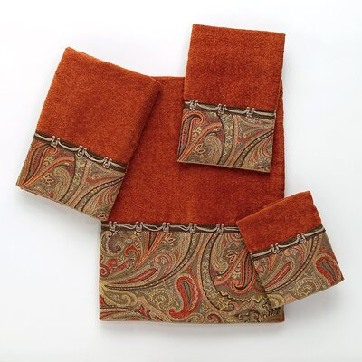 Bradford Hand Towel Color: Copper
