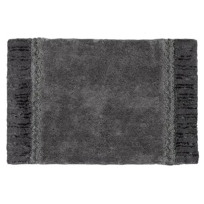 Braided Medallion Bath Rug Color: Granite