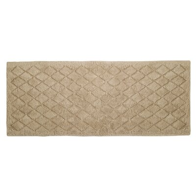 Splendor Solid Bath Rug Size: 1 H x 24 W x 60 D, Color: Linen