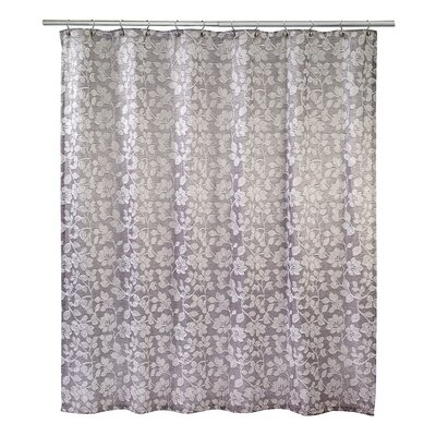 Branches Shower Curtain Color: Silver