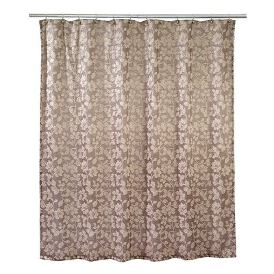 Branches Shower Curtain Color: Gold