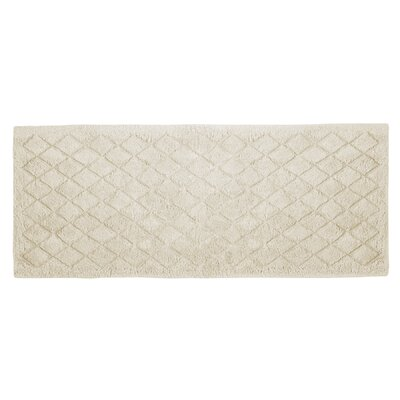 Splendor Solid Bath Rug Color: Ivory, Size: 1 H x 21 W x 34 D