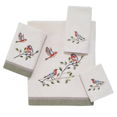 Bird Choir 4 Piece Towel Set