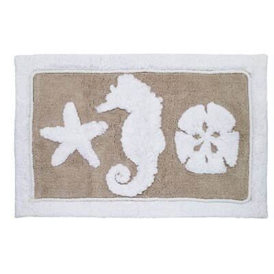 Sea and Sand Bath Rug