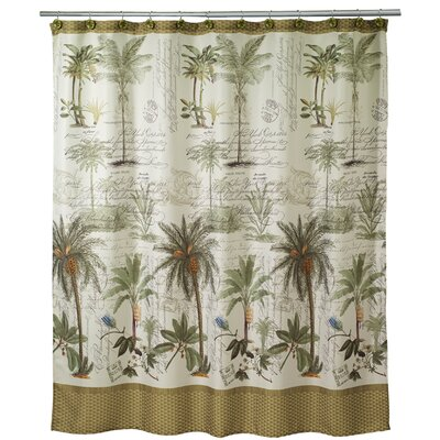 Shelborne Palm Shower Curtain