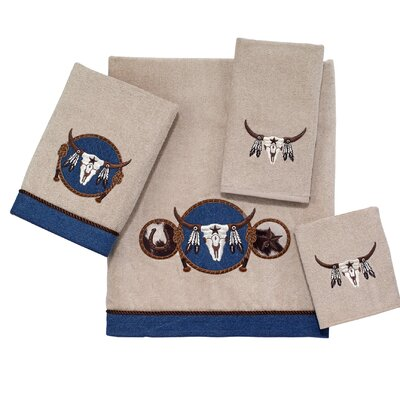 Longhorn 4 Piece Towel Set