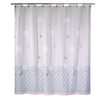 Seaglass Cotton Shower Curtain