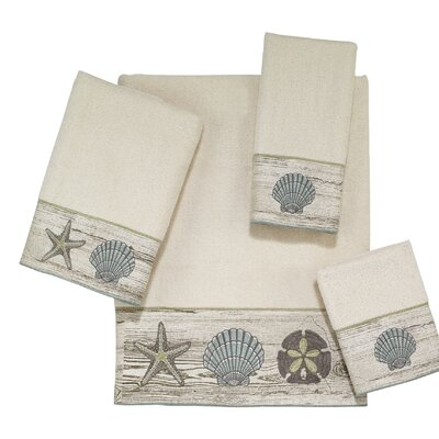 Vancouver 4 Piece Towel Set Color: Linen