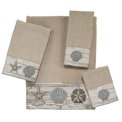 Ishmael 4 Piece Towel Set Color: Ivory
