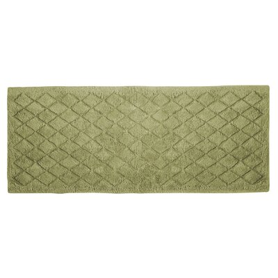 Splendor Solid Bath Rug Size: 1 H x 21 W x 34 D, Color: Sage