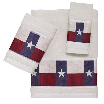 Texas Star 3 Piece Towel Set