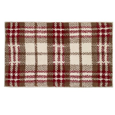 Hunter Plaid Bath Rug