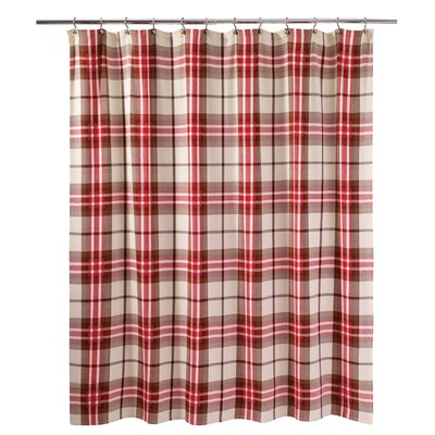 Hunter Plaid Shower Curtain
