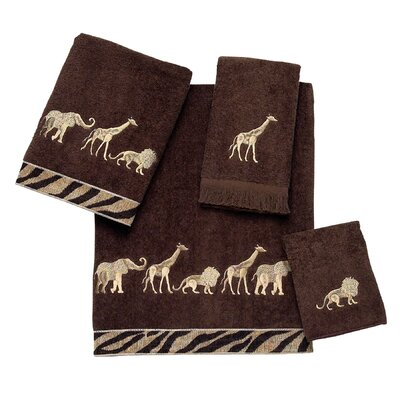 Animal Parade 4 Piece Towel Set