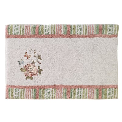 Culbreth Butterfly Shower Bath Rug