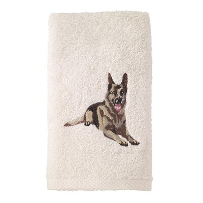 German Shephard Hand Towel