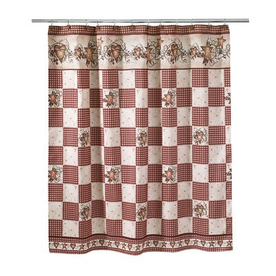Culbert Hearts & Stars Shower Curtain