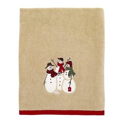 Jalles Snowmen Gathering Bath Towel