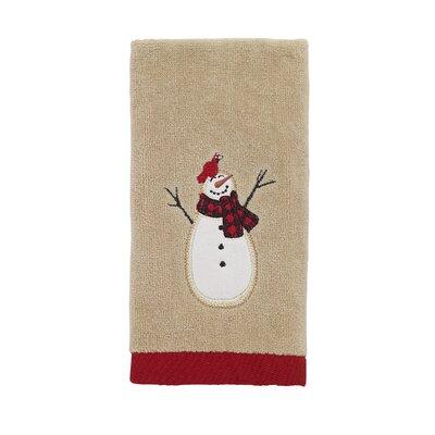 Jalles Snowmen Gathering Fingertip Towel