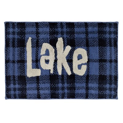 Stigler Lake Cotton Bath Rug