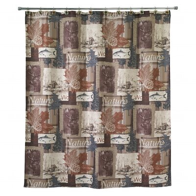 Laszlo Cotton Shower Curtain