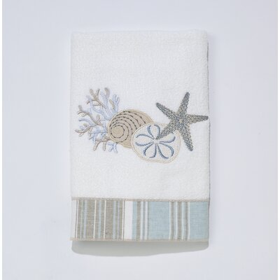 By the Sea Hand Towel Color: White