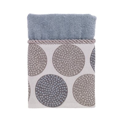 Greenpoint Dotted Circles Washcloth Color: Mineral