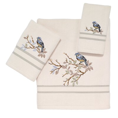 Zindell 3 Piece Towel Set