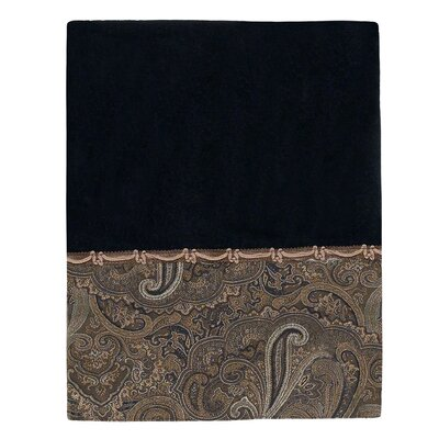 Bradford Bath Towel Color: Black