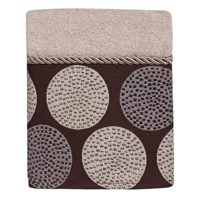 Greenpoint Dotted Circles Washcloth Color: Linen/Mocha