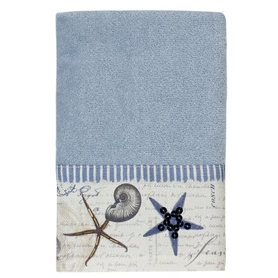 Antigua Hand Towel Color: Blue Fog