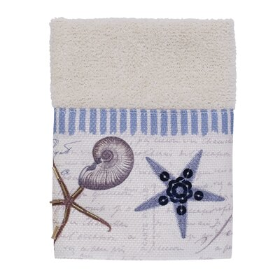 Antigua Washcloth Color: Ivory