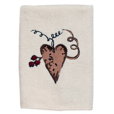 Hearts Washcloth