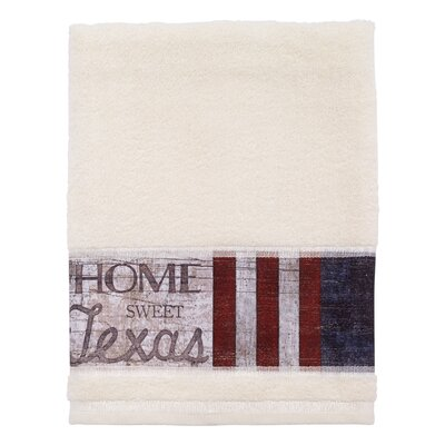 Genevieve Home Sweet Texas Bath Towel