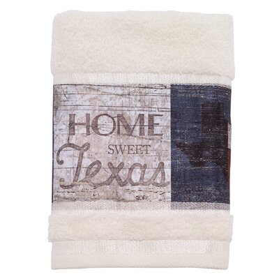 Genevieve Home Sweet Texas Hand Towel
