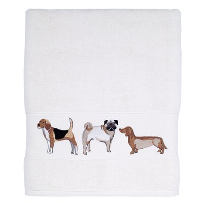 Ganzi Dogs Bath Towel