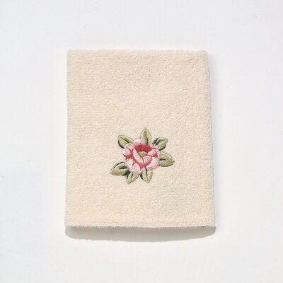 Rosefan Washcloth